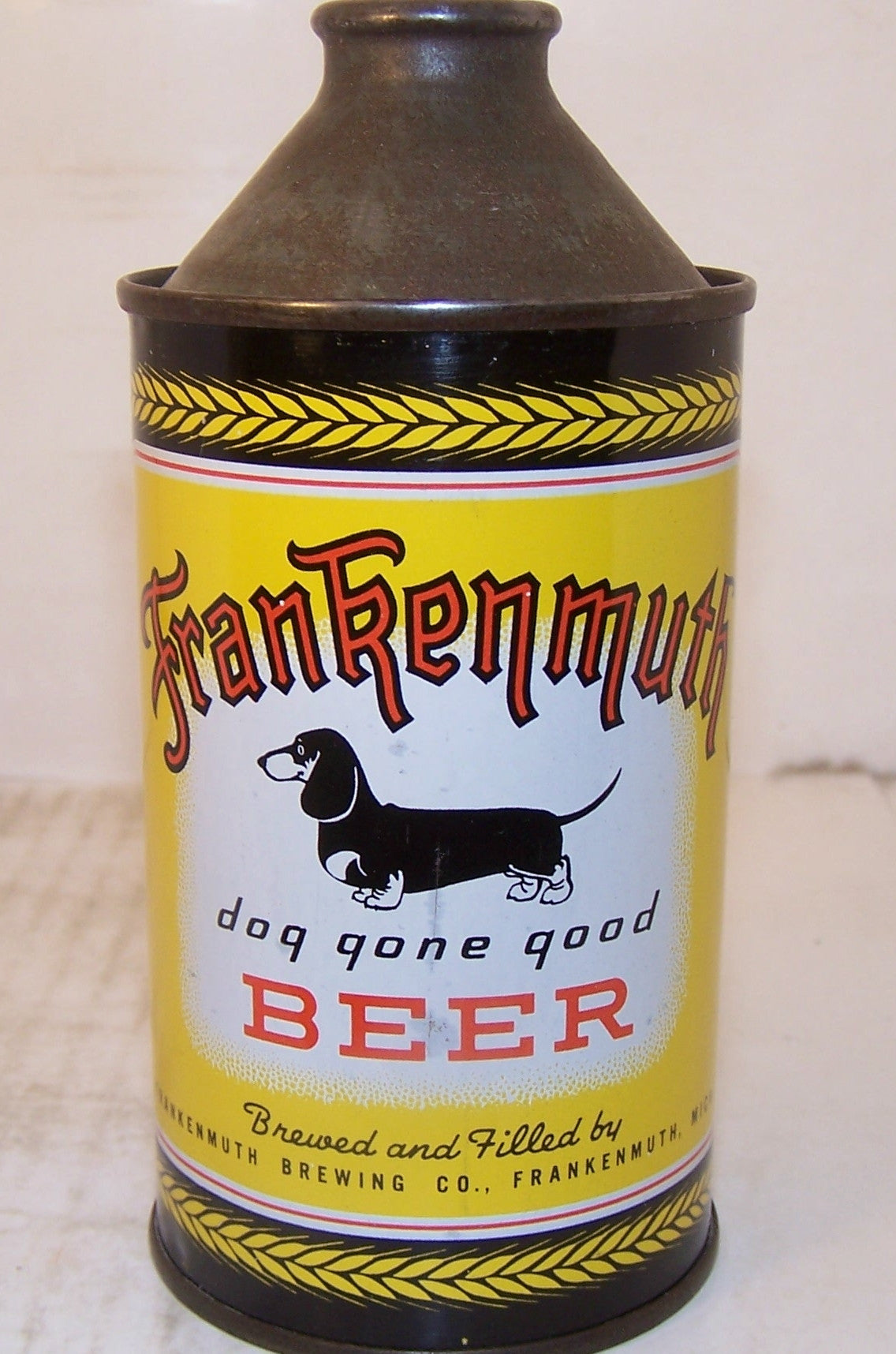 "Frankenmuth ""Dog Gone Good"" Beer, USBC 163-30, Grade 1/1- Sold on 4/1/15"