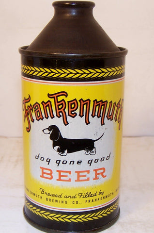 "Frankenmuth ""Dog Gone Good"" Beer, USBC 163-30, Grade 1 Sold 2/10/15"
