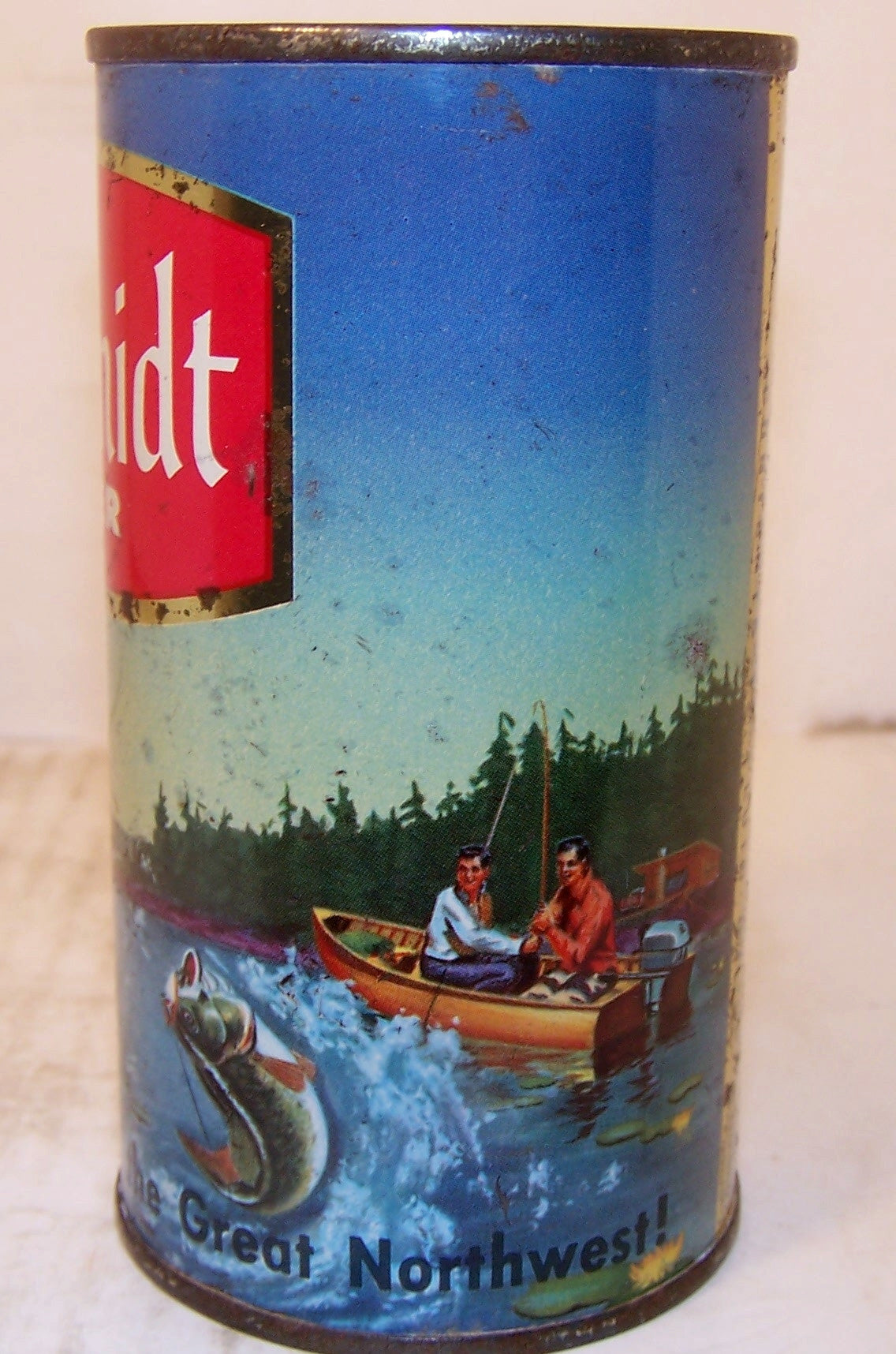 Schmidt Beer (Indian spear fishing) USBC 130-34, Grade 1- Sold 1/20/15