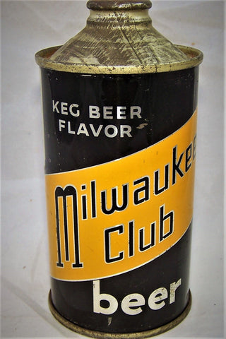 Milwaukee Club Beer, USBC 173-27, (Contains 4 3/4%) Grade 1