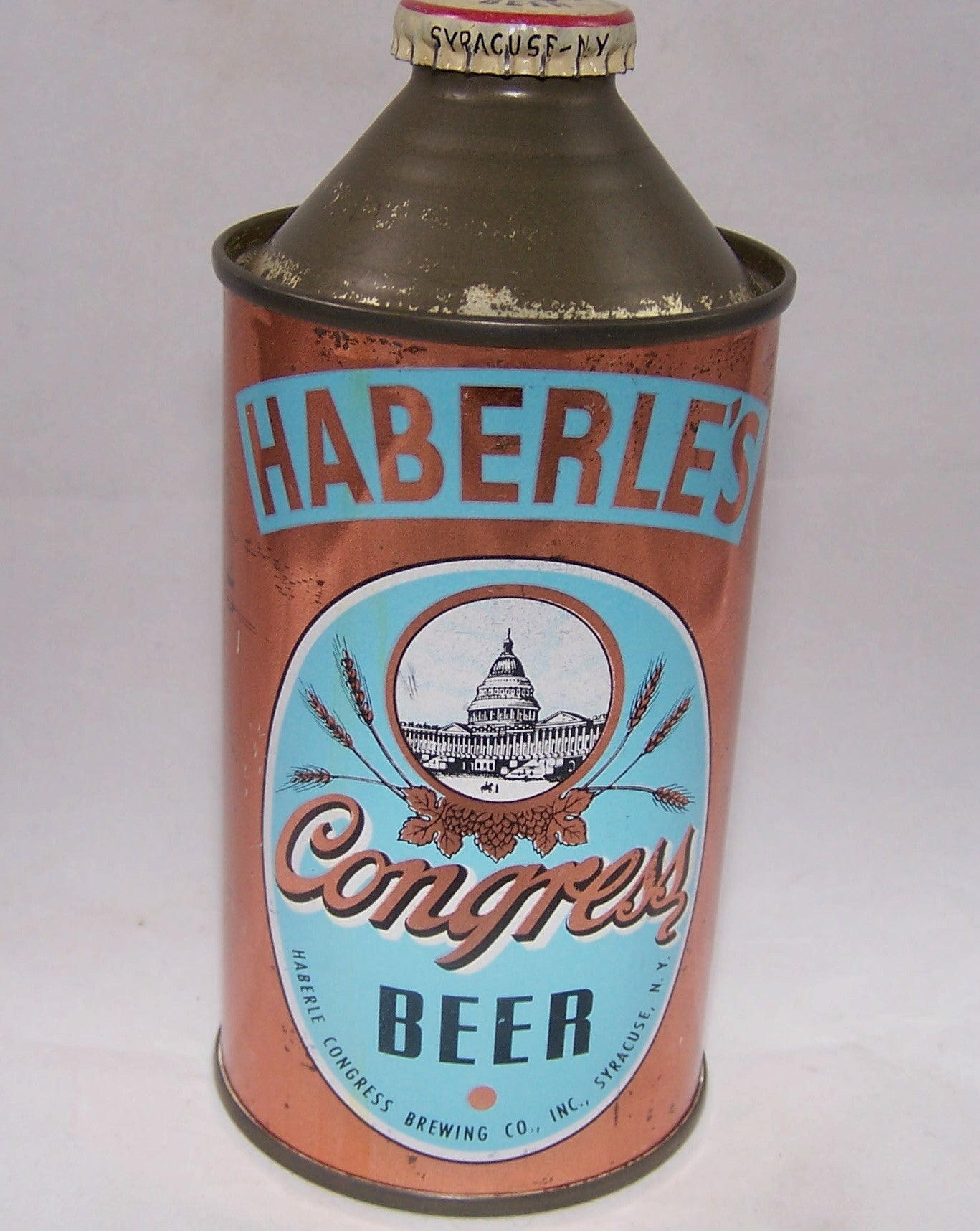 Haberle's Congress Beer, USBC 138-13, Grade 1/1- Sold on 11/29/16