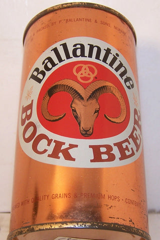 Ballantine Bock Beer, USBC 34-22, Grade 1   Sold on 2/27/15