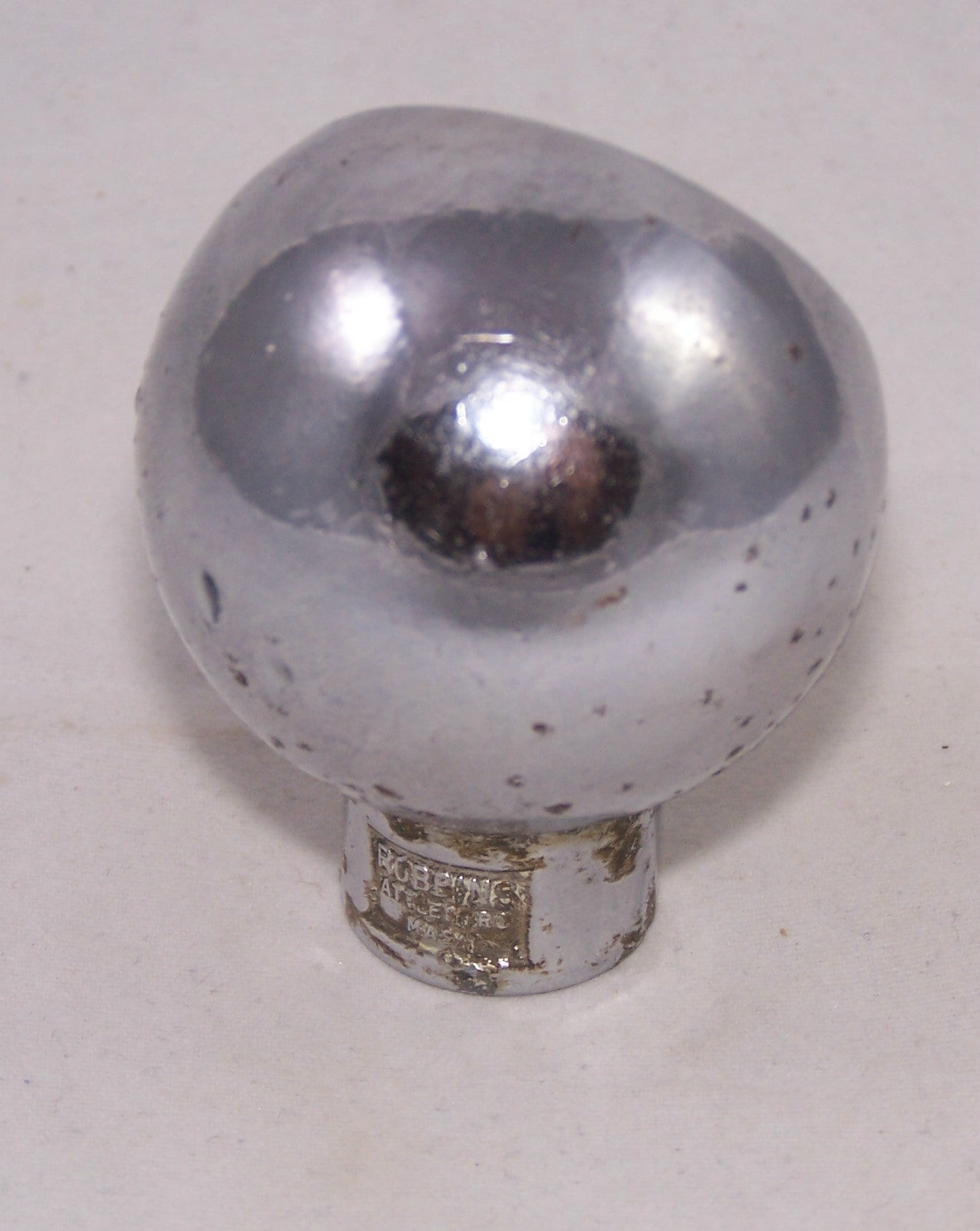 Good Old Hoosier Ball Knob, Page 50-331, grade 8+