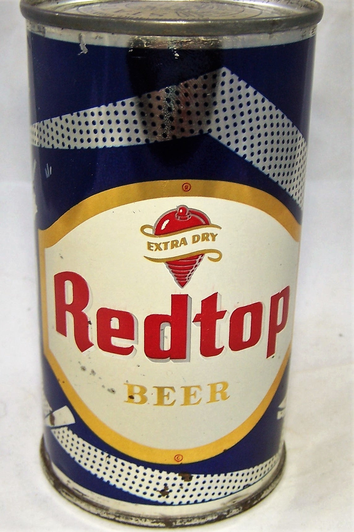 Red Top Beer (Wunderbrau) Baseball, USBC N.L Grade 1 Sold on 01/10/19