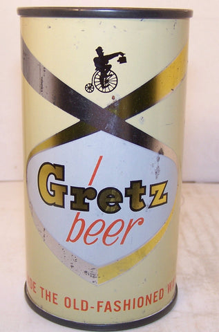 "Gretz Beer ""Made the Old Fashion Way"" USBC 74-39, Grade 1-"