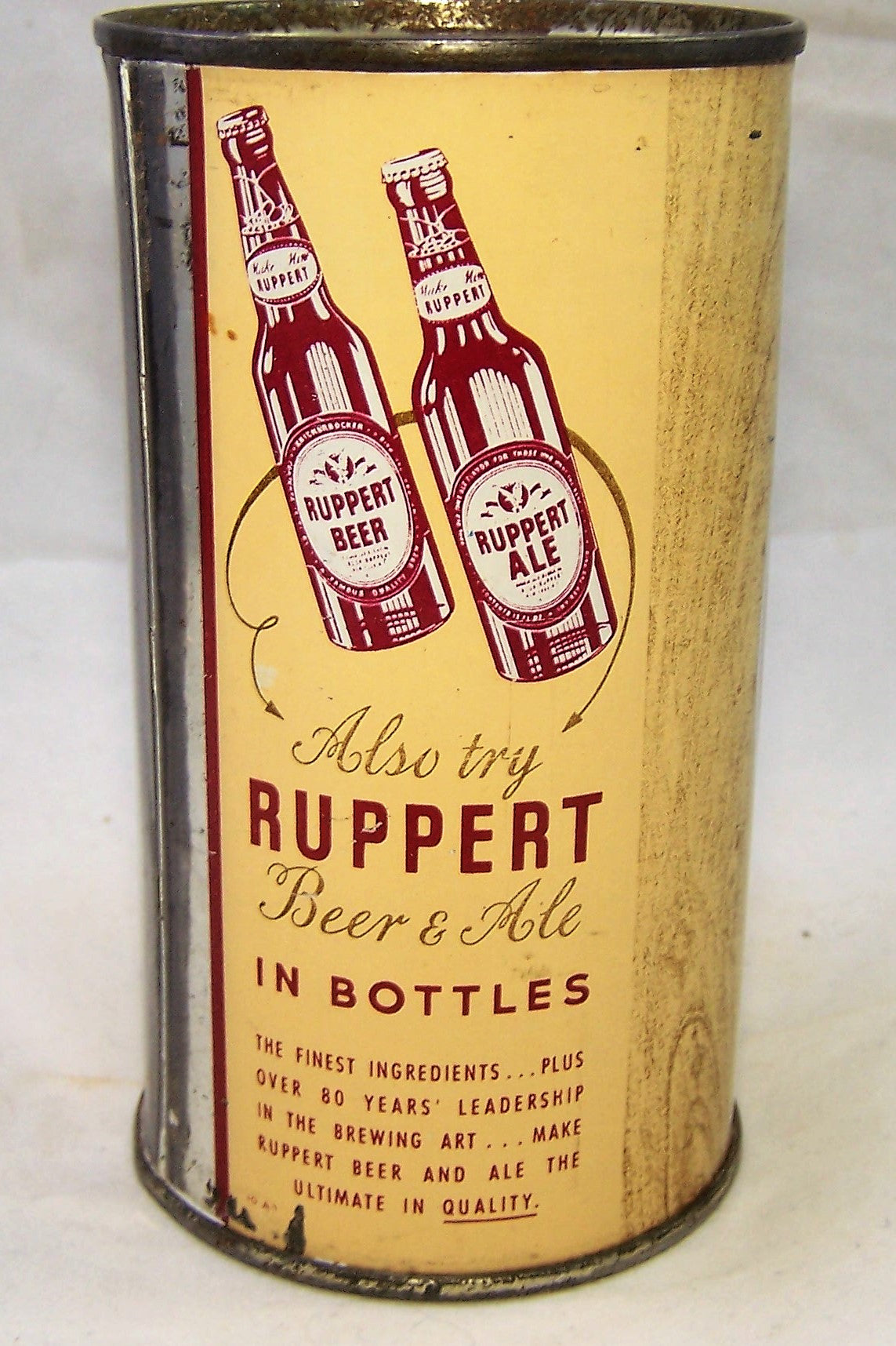 Ruppert Beer, Indoor can, Grade 1