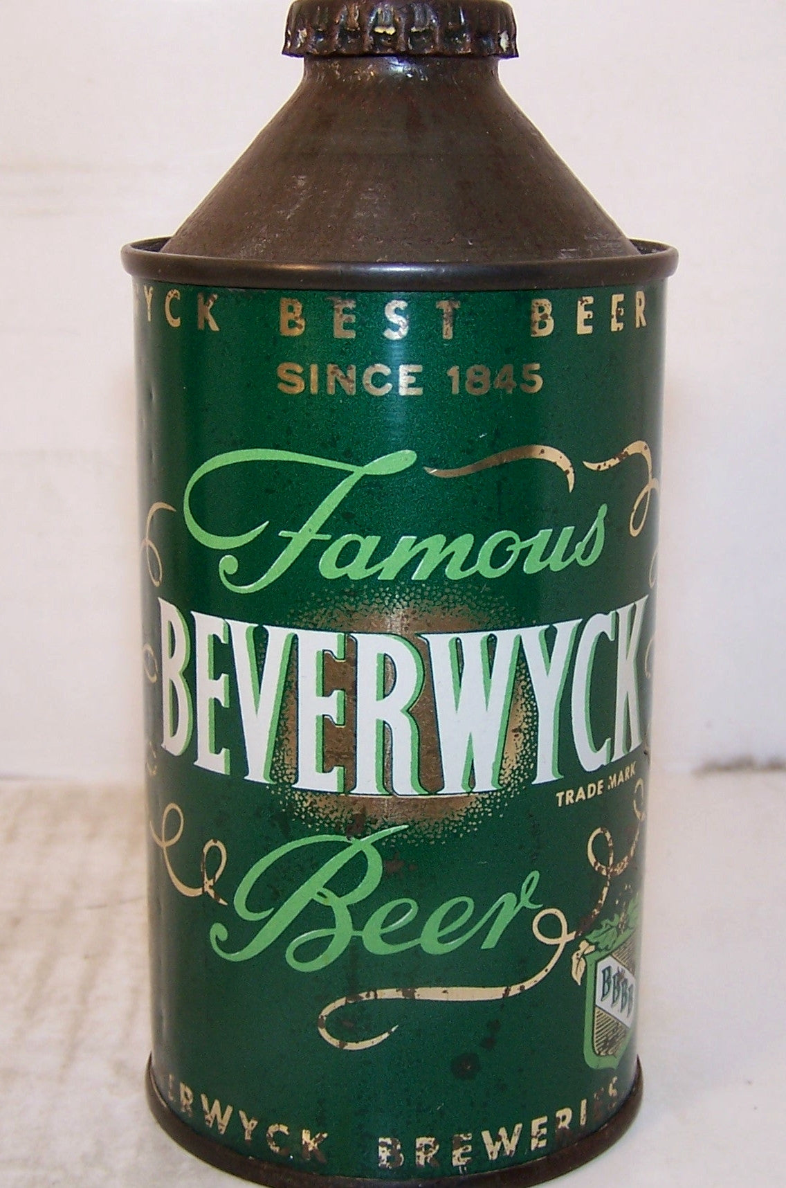 Beverwyck Famous Beer, USBC 152-14, Grade 1/1- Sold on 05/21/16