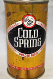 Cold Spring Golden Brew, All original, Indoor, Grade 1-