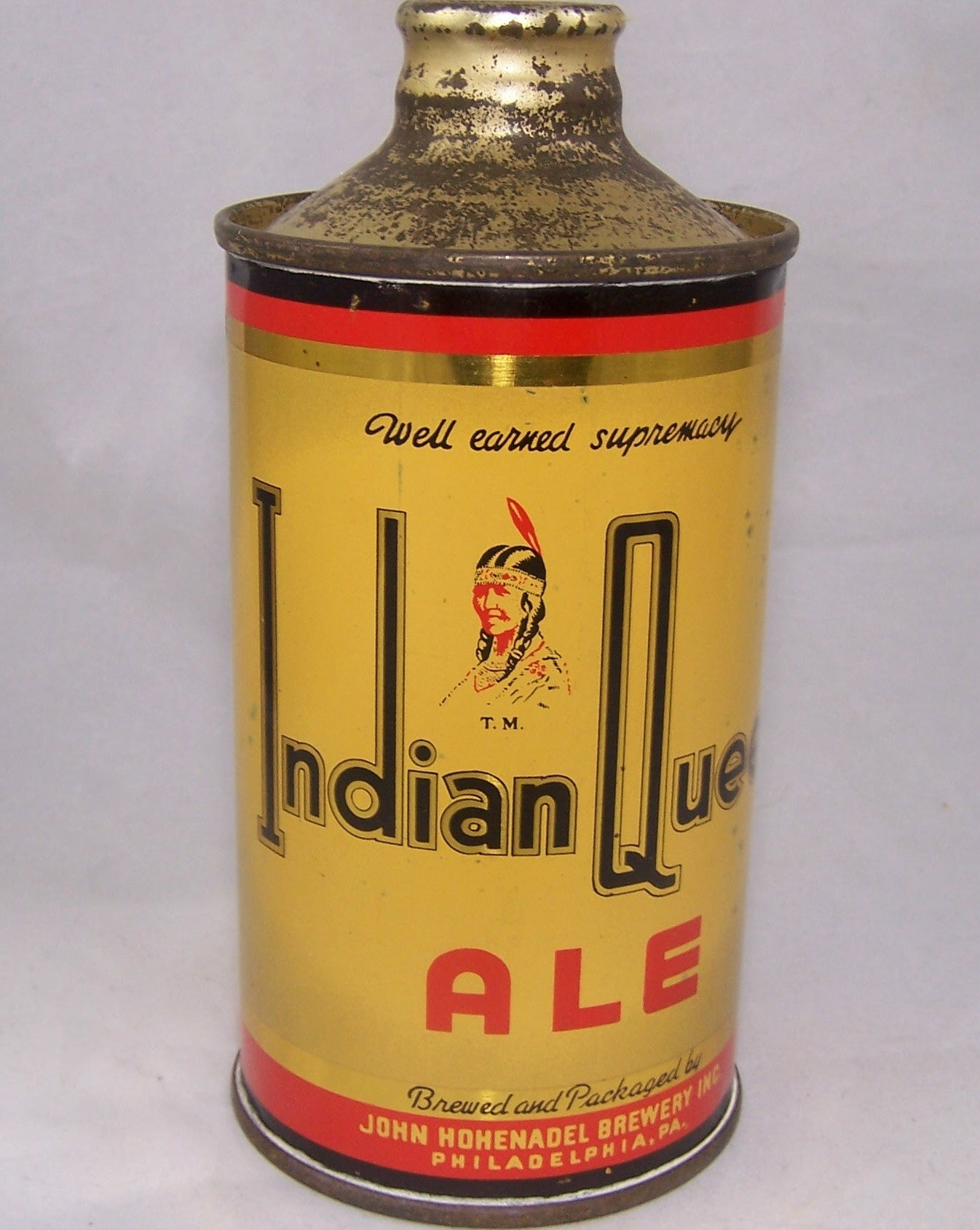 Indian Queen Ale, USBC 168-32, Grade 1 to 1/1+ Sold on 09/09/16