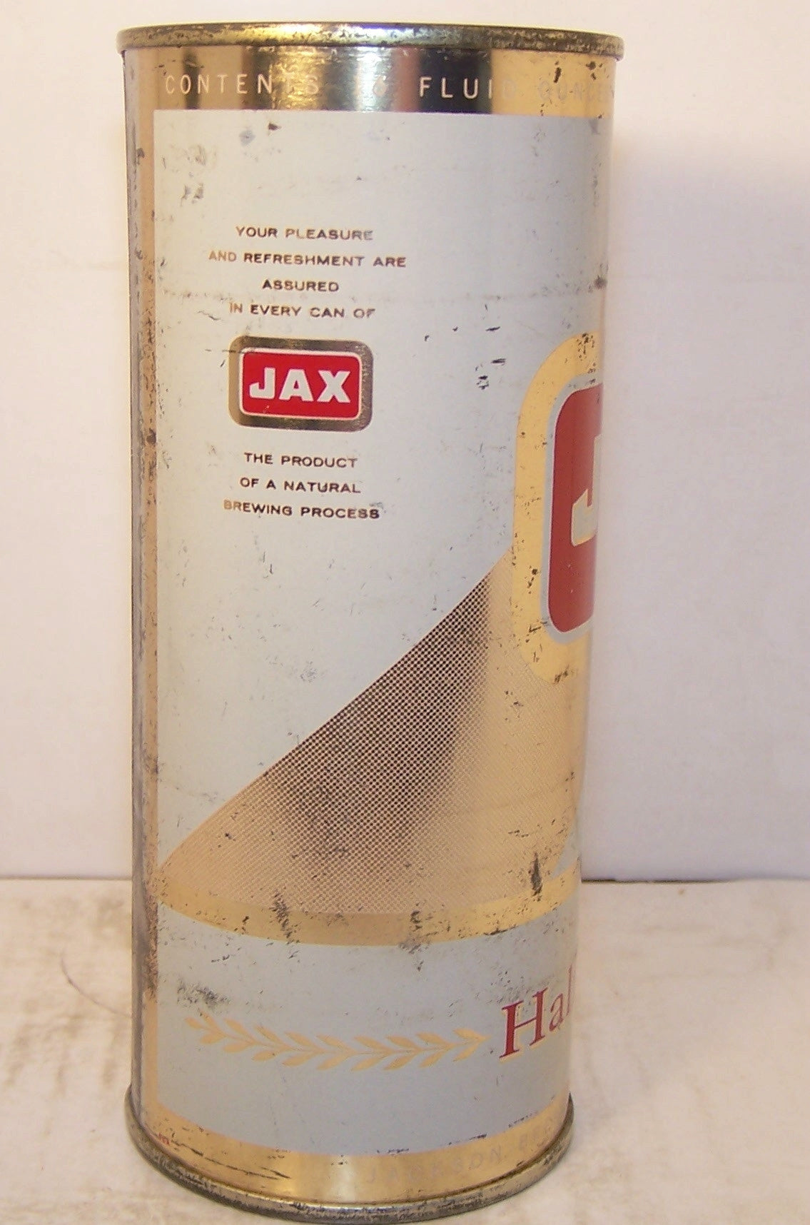 Jax Beer, USBC 231-8, Grade 1- Sold on 12/01/16