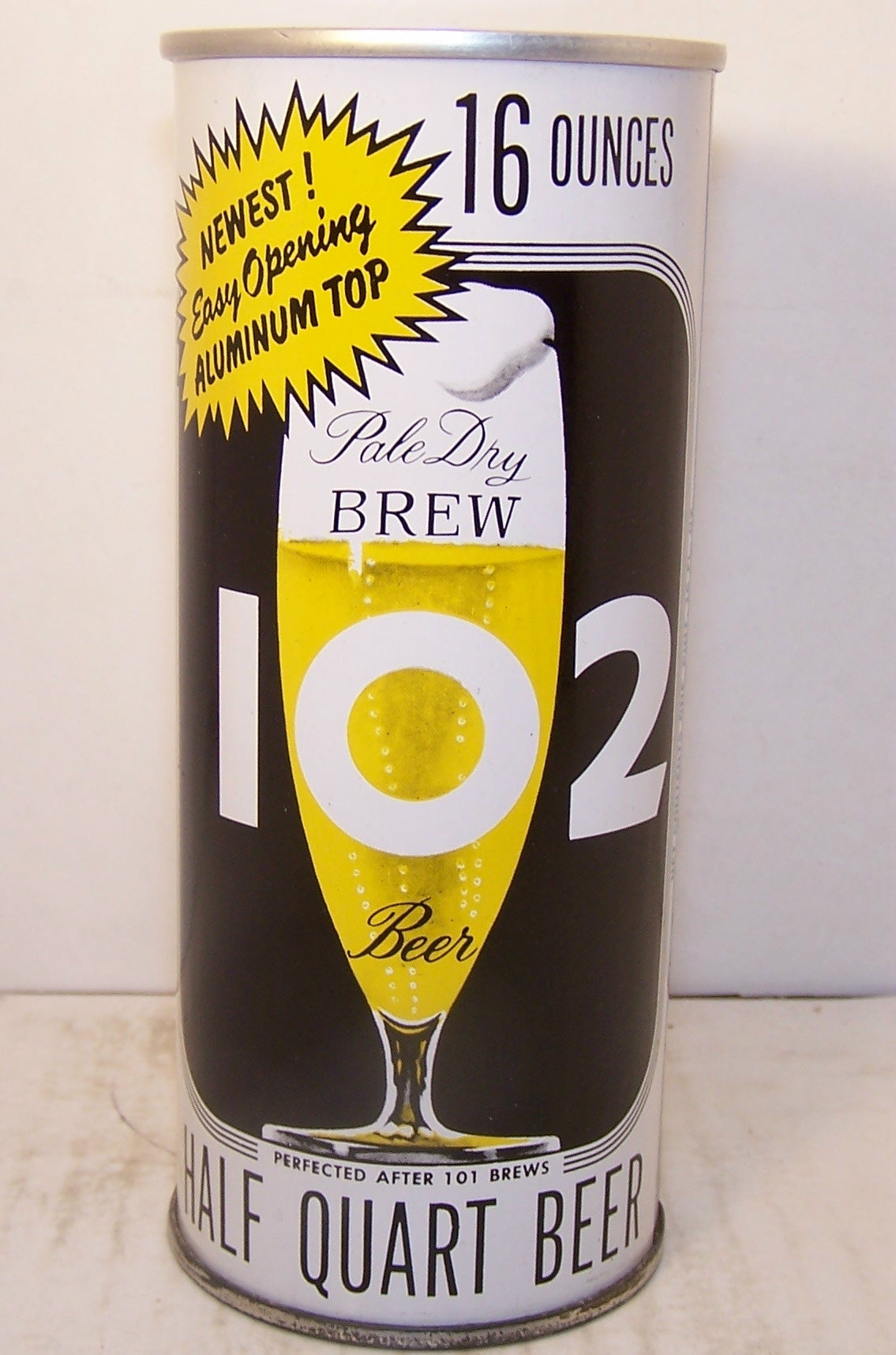 "Brew 102 ""Newest Easy Opening Aluminum Top"" USBC 226-4, Grade 1/1+ Sold 1/15/15"