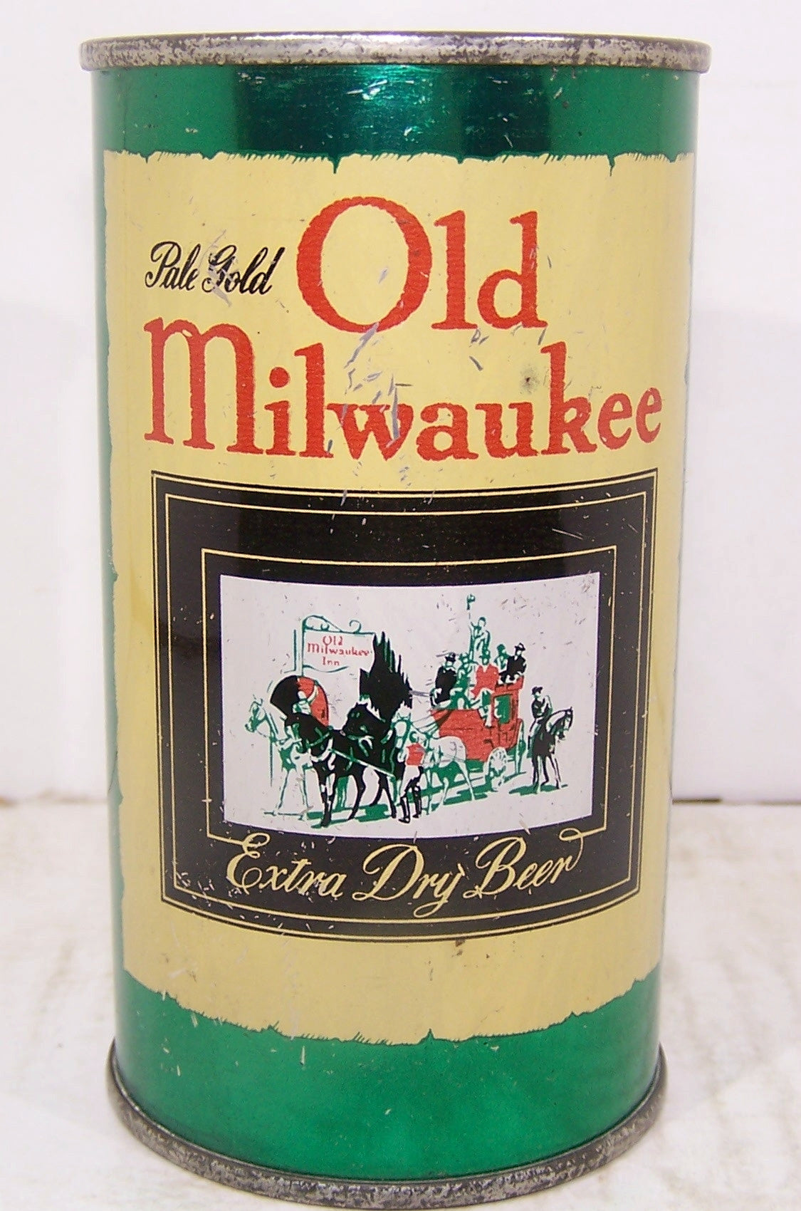 Old Milwaukee Extra Dry Beer, USBC 107-24, Grade 1- Sold on 2/14/15