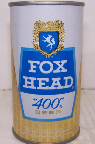 "Fox Head ""400"" Beer, USBC Like 65-35, Grade A1+ Sold 3/7/15"
