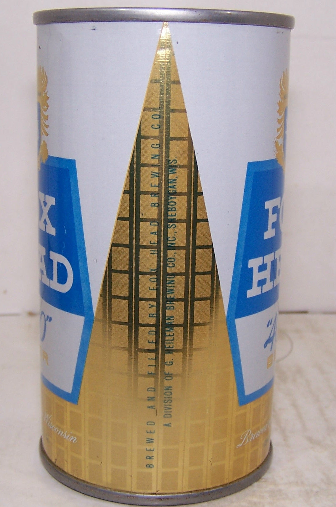"Fox Head ""400"" Beer, USBC 65-39, Grade 1 to 1/1+ Sold on 5/3/15"