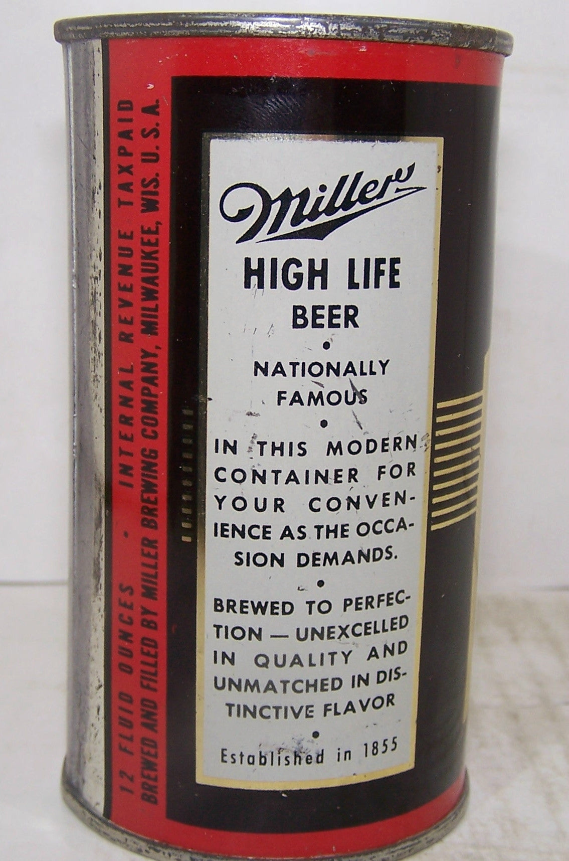 Miller High Life Beer, USBC 99-32, I.R.T.P Grade 1/1+ Sold on 4/30/15