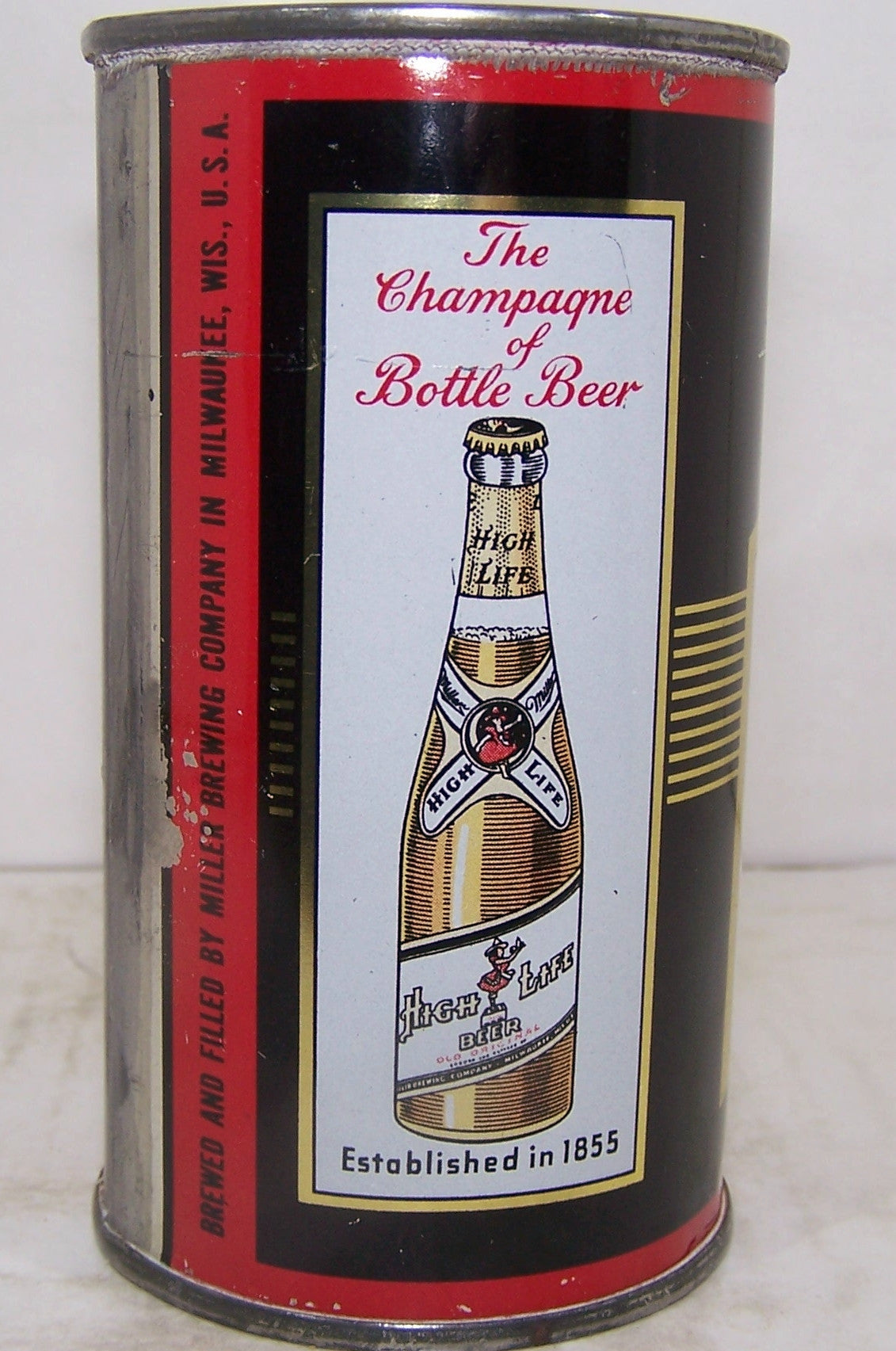 Miller High Life Beer, USBC 99-35, Grade 1/1- Sold 7/1/15