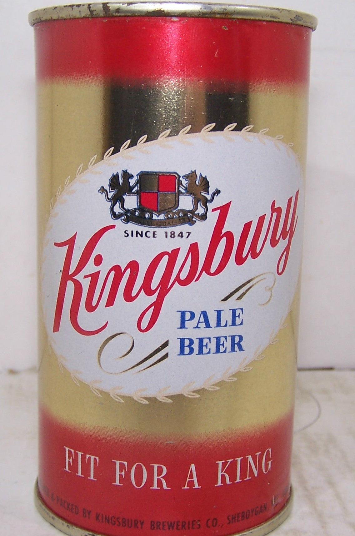 Kingsbury Pale Beer, USBC 88-9, Grade A1+ Sold 2/13/15