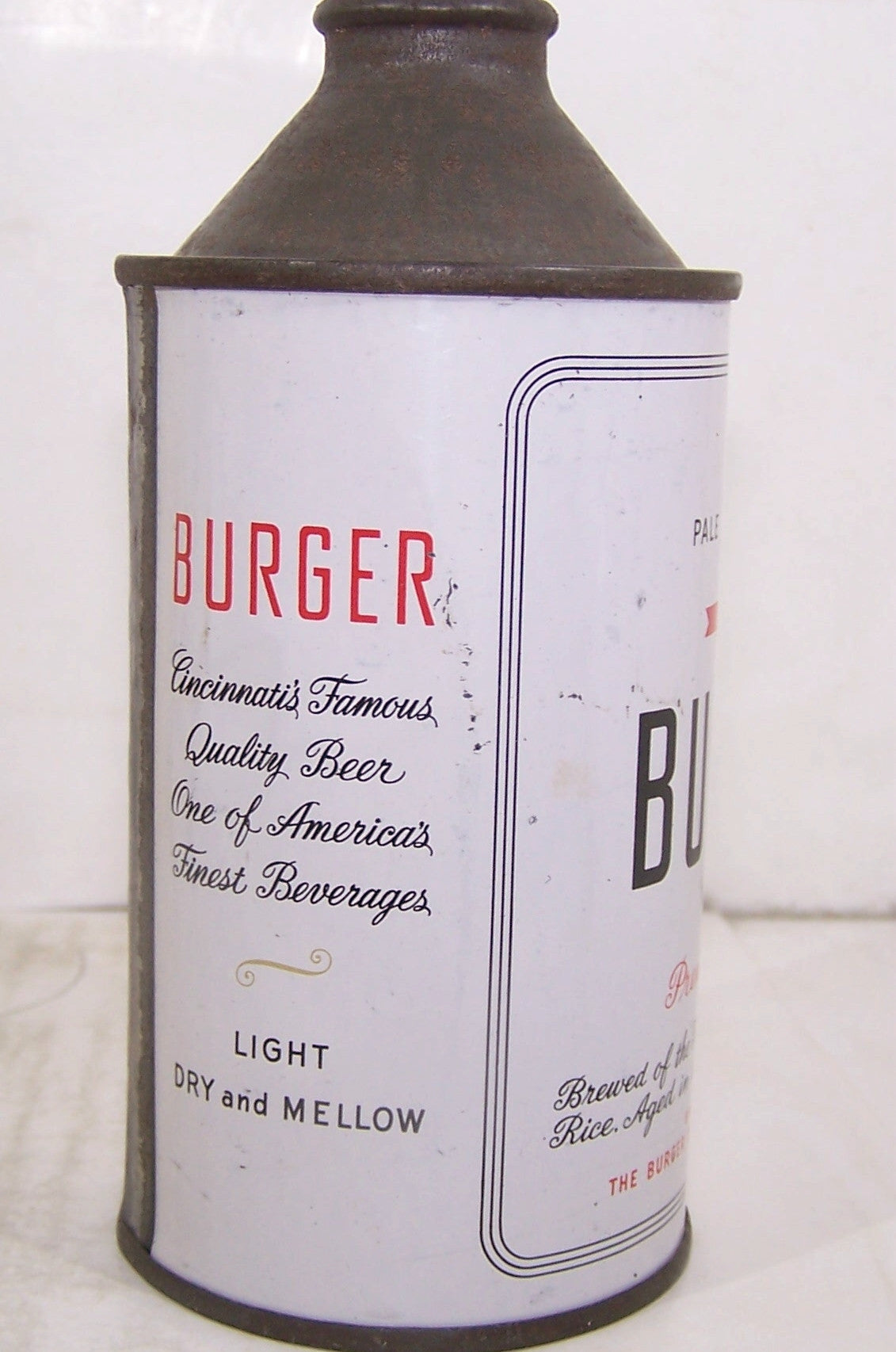 Burger Beer Premium Quality, USBC 155-27, Grade 1 Sold on 6/3/15