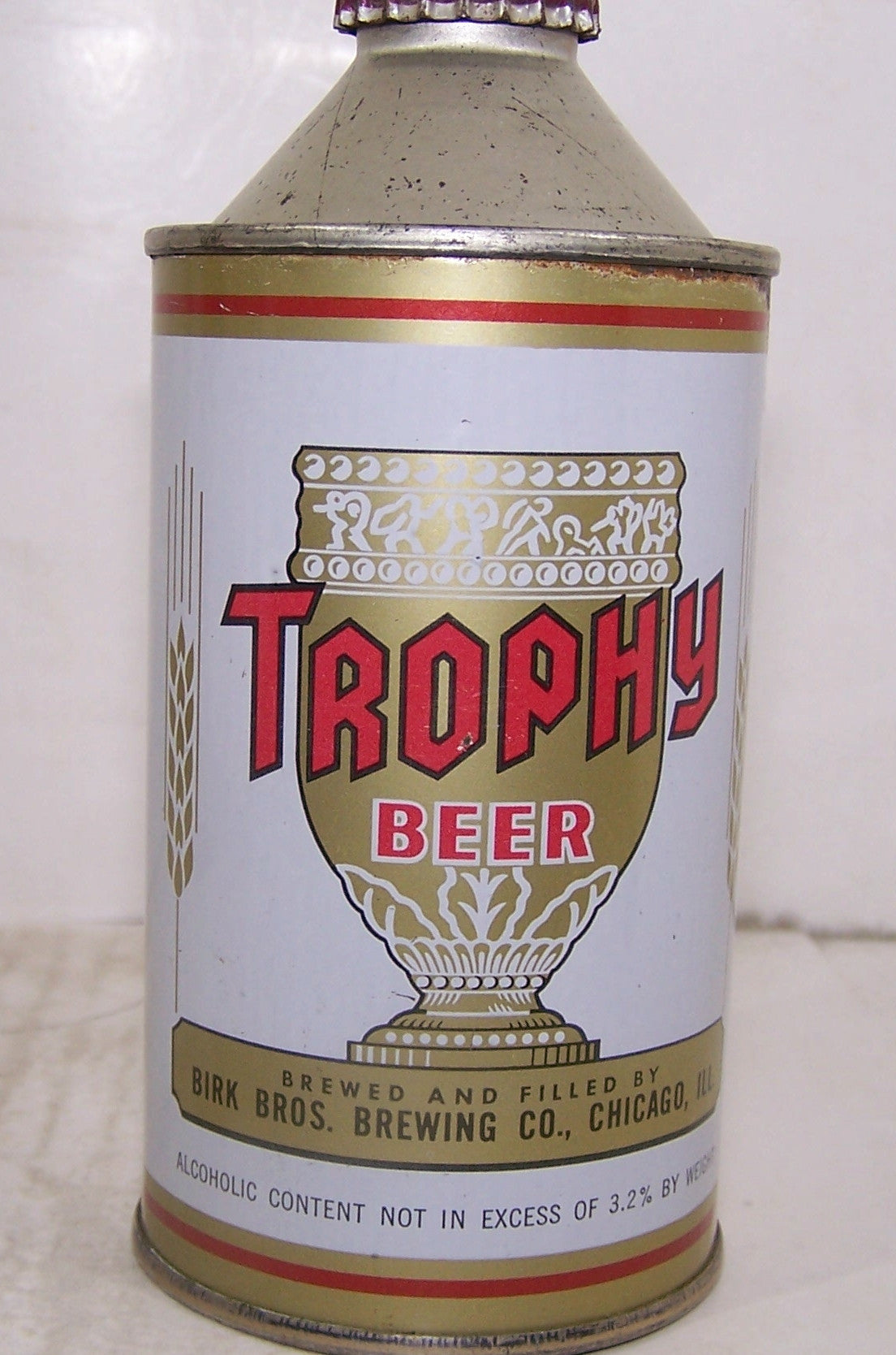 Trophy Beer Not in excess of 3.2% Alc Statement, USBC 187-9, Grade 1-sold8/5/16