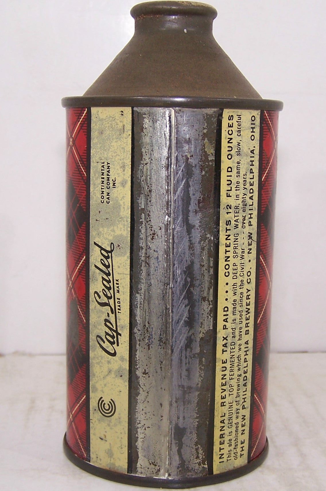Scotch Highland Brand Genuine Ale, USBC 185-8, Grade 1-/2+ Sold on 2/27/15