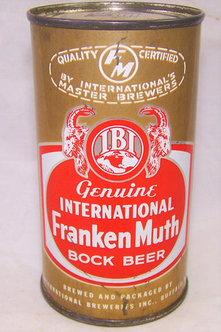 International FrankenMuth Bock Beer, USBC 85-24, Grade 1/1-