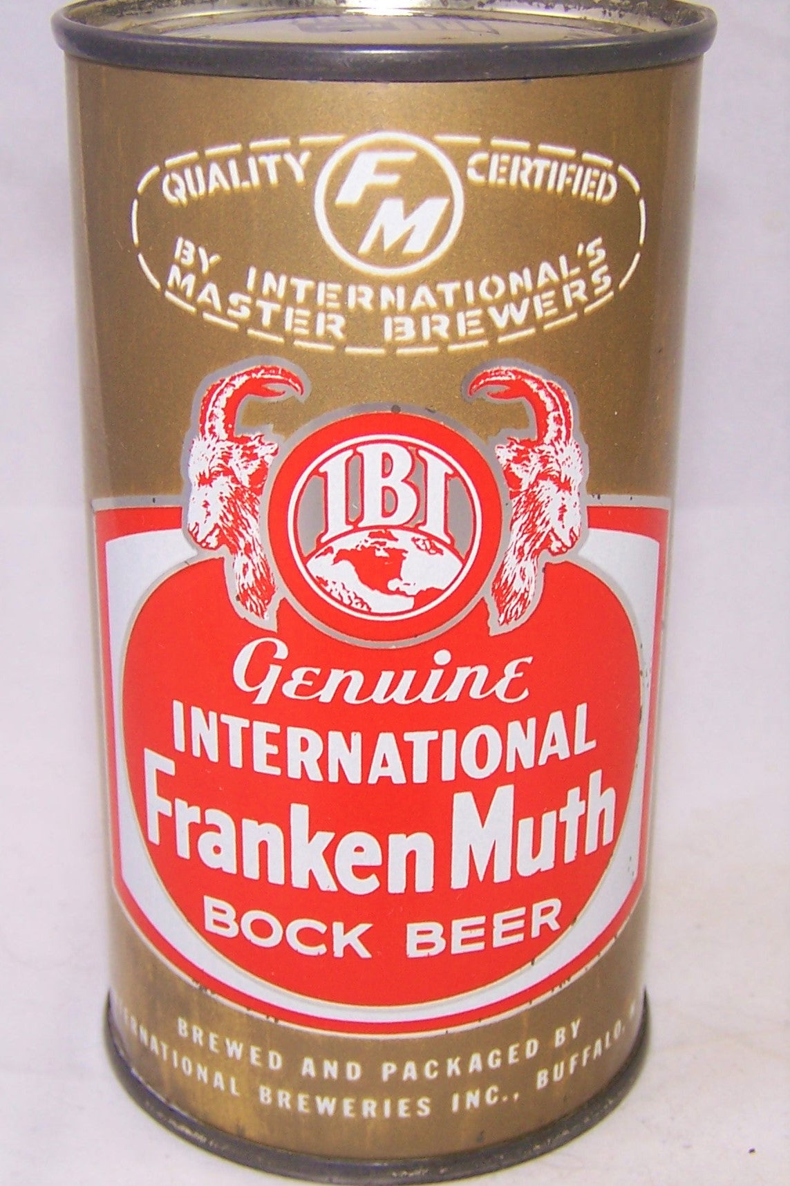 International FrankenMuth Bock Beer, USBC 85-24, Grade 1/1-  Sold 5/14/19