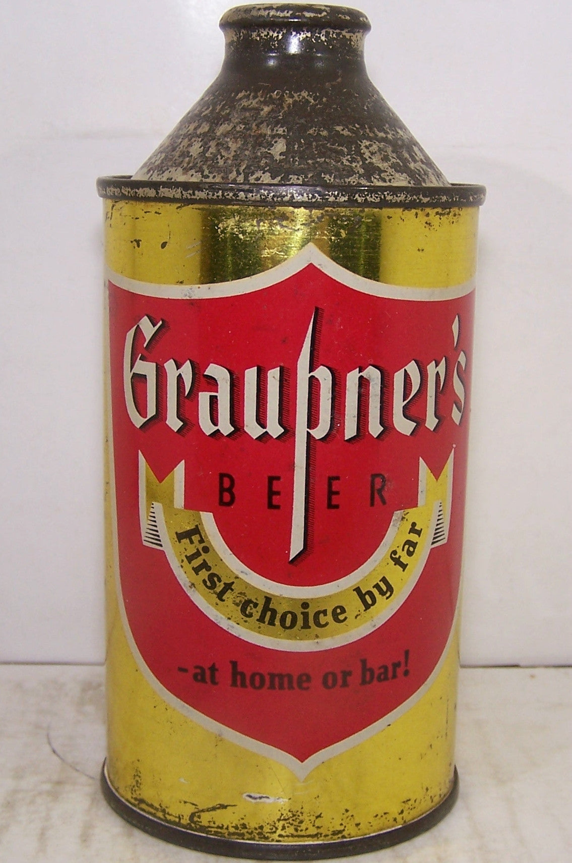 Graupner's Beer, At Home or Bar! USBC 167-28, Grade 1/1- Sold on 11/04/17