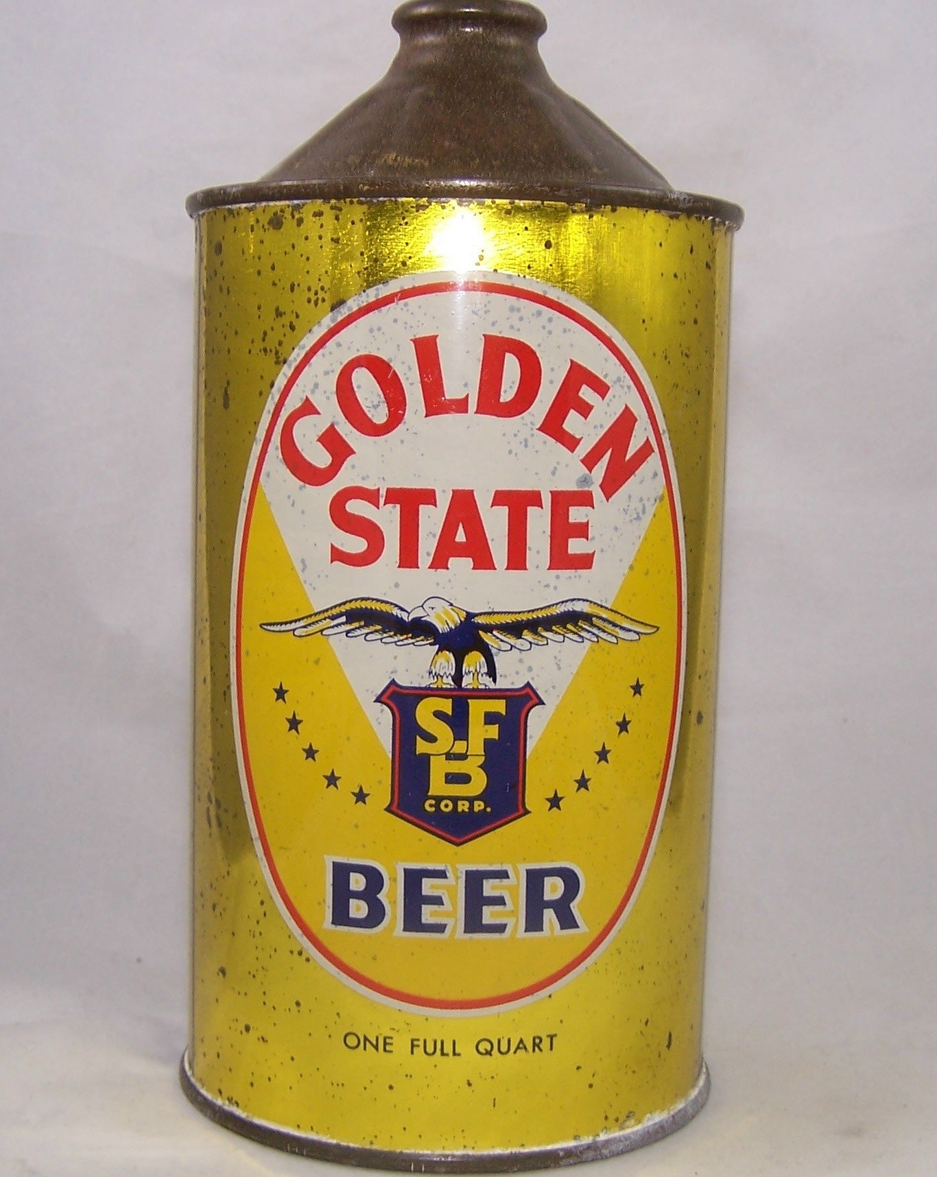 Golden State Beer, USBC 211-07, Grade 1-/2+ Sold on 11/22/16