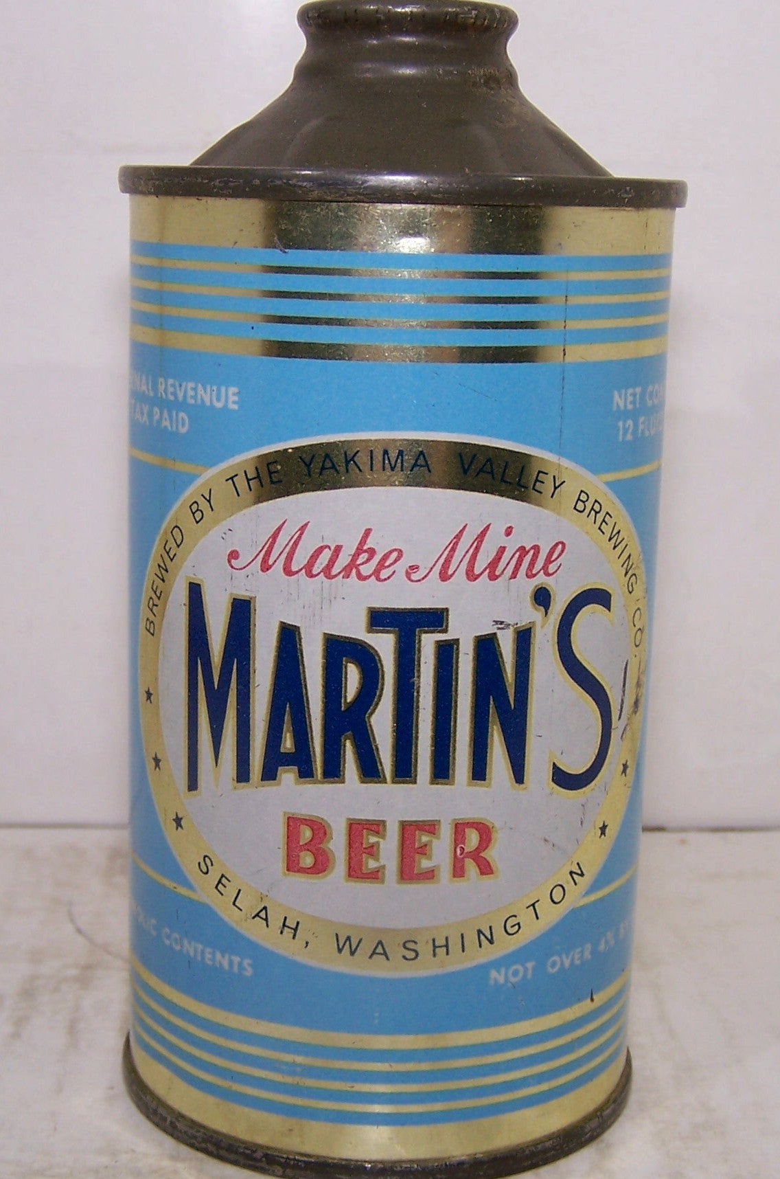 Martin's Beer Low Profile, USBC 173-13, Grade 1 to 1/1+ Sold on 8/16/15