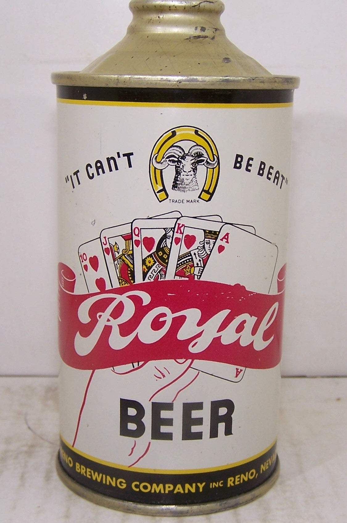 "Royal Beer "" It can't be beat"" USBC 182-12, Grade 1/1+ Sold 4/24/15"
