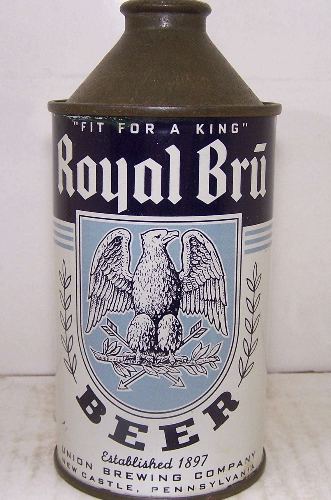 Royal Bru Beer High Profile, USBC 182-29, Grade A1+ Sold on 10/10/15