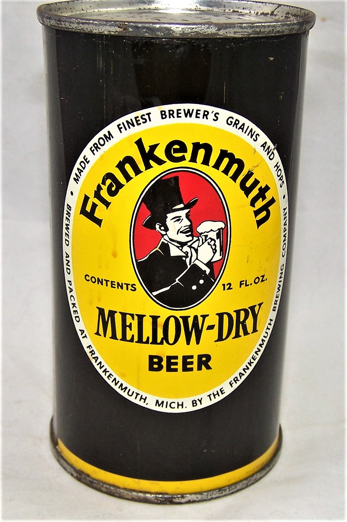 Frankenmuth Mellow-Dry Beer, USBC 66-28, Grade 1/1+ Sold on 03/10/20