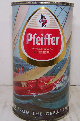 Pfeiffer Premium Beer (Sailboat) USBC 114-8, Grade 1 Sold 4/25/15