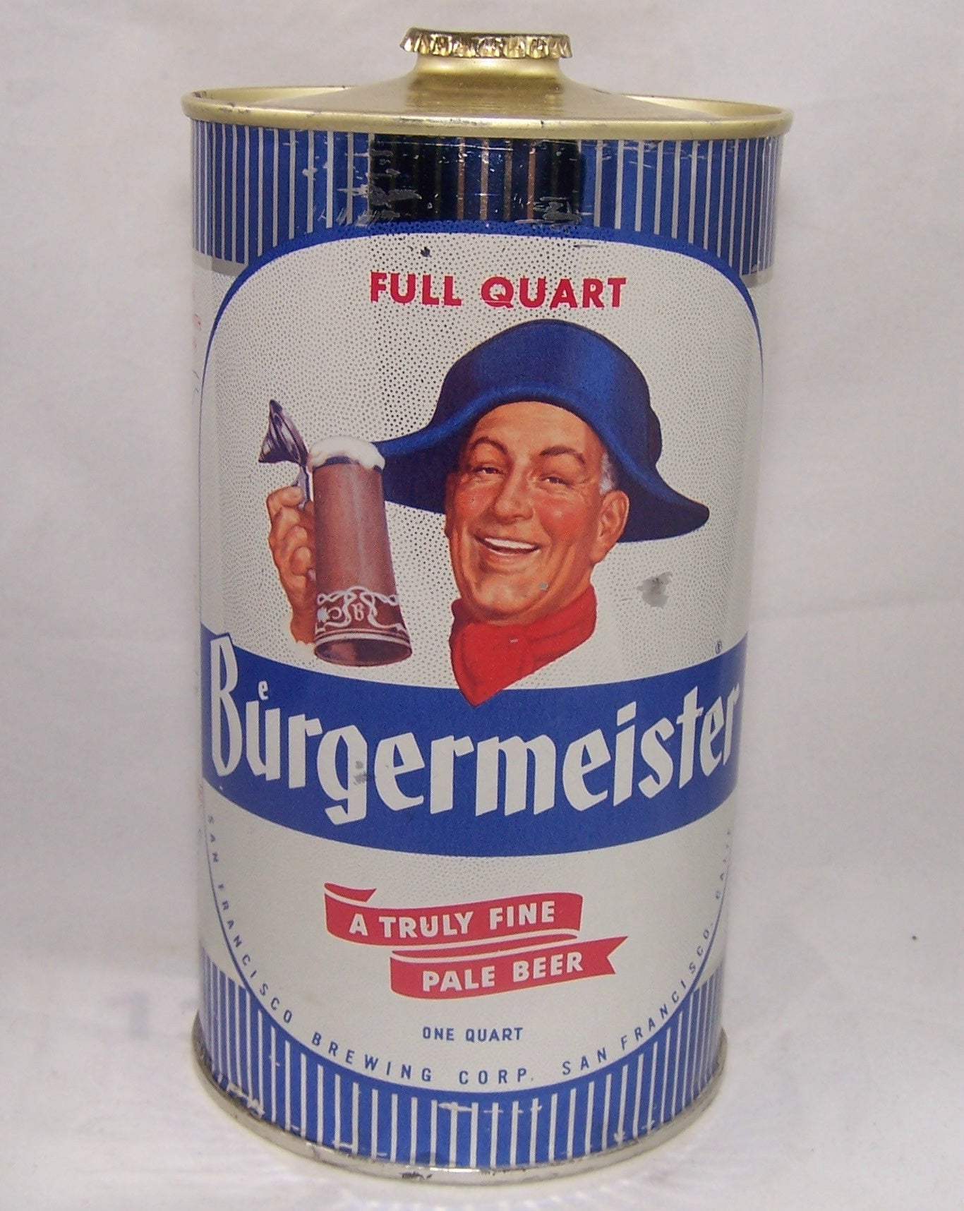 Burgermeister Pale Beer, USBC 205-02, Grade 1/1+ Sold on 09/16/16