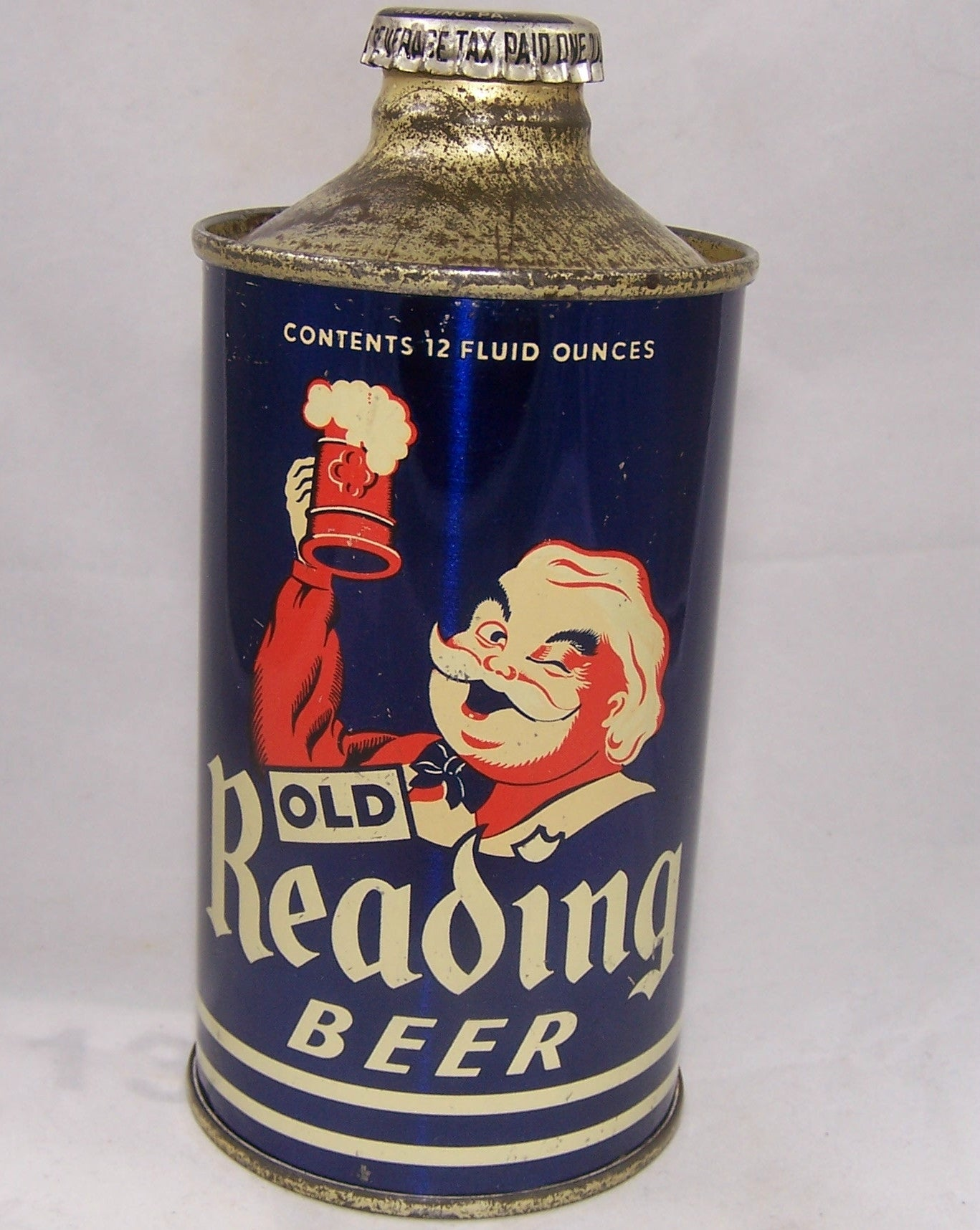 Old Reading Beer, USBC 176-30, Grade 1 to 1/1+ Sold on 09/20/16