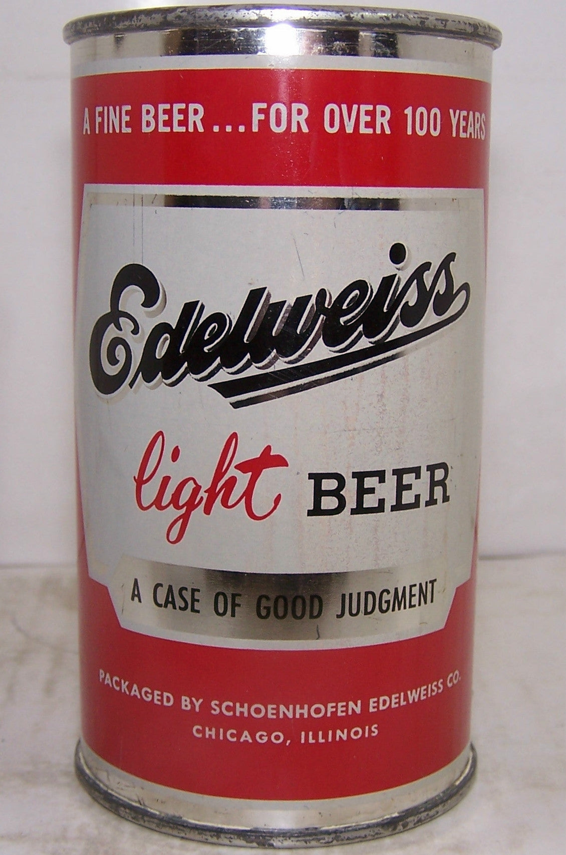 Edelweiss Light Beer, USBC 59-5, Grade 1/1+