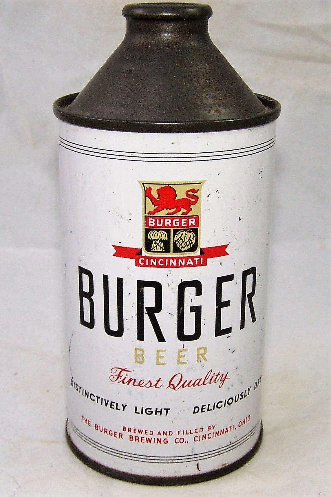 Burger Finest Quality Beer, USBC 155-28, Grade 1- Sold on 06/10/19