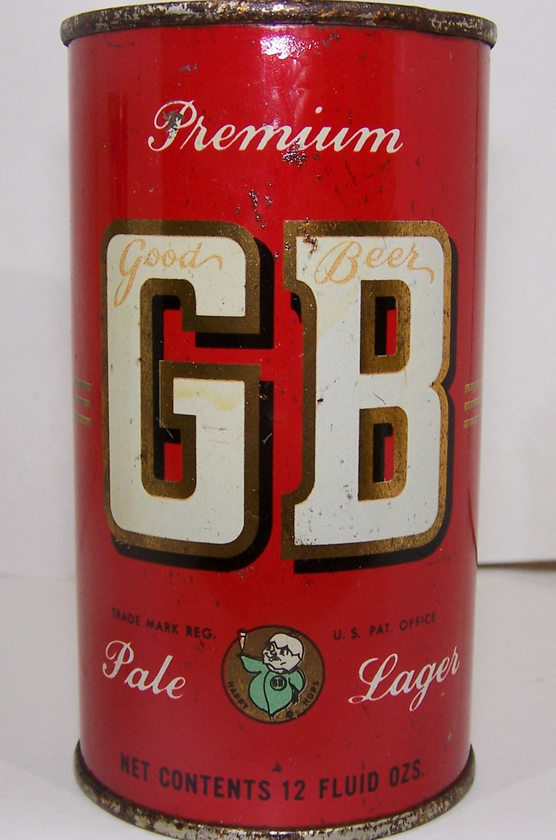 GB Pale Lager Beer, USBC 67-36,Grade 1- Sold on 04/30/18