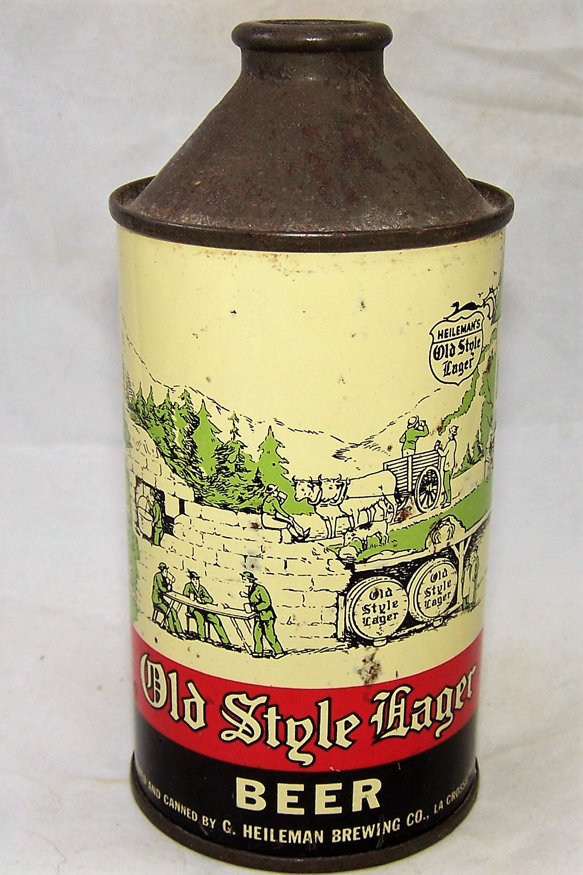 Old Style Lager Beer, DNCMT 4% USBC 177-18, Grade 1-  Sold