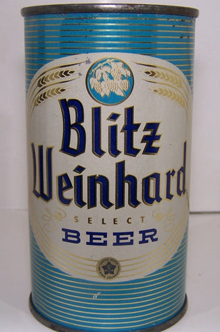 Blitz Weinhard Select Beer, USBC 39-29, Grade 1 to 1/1+ Sold 3/5/15