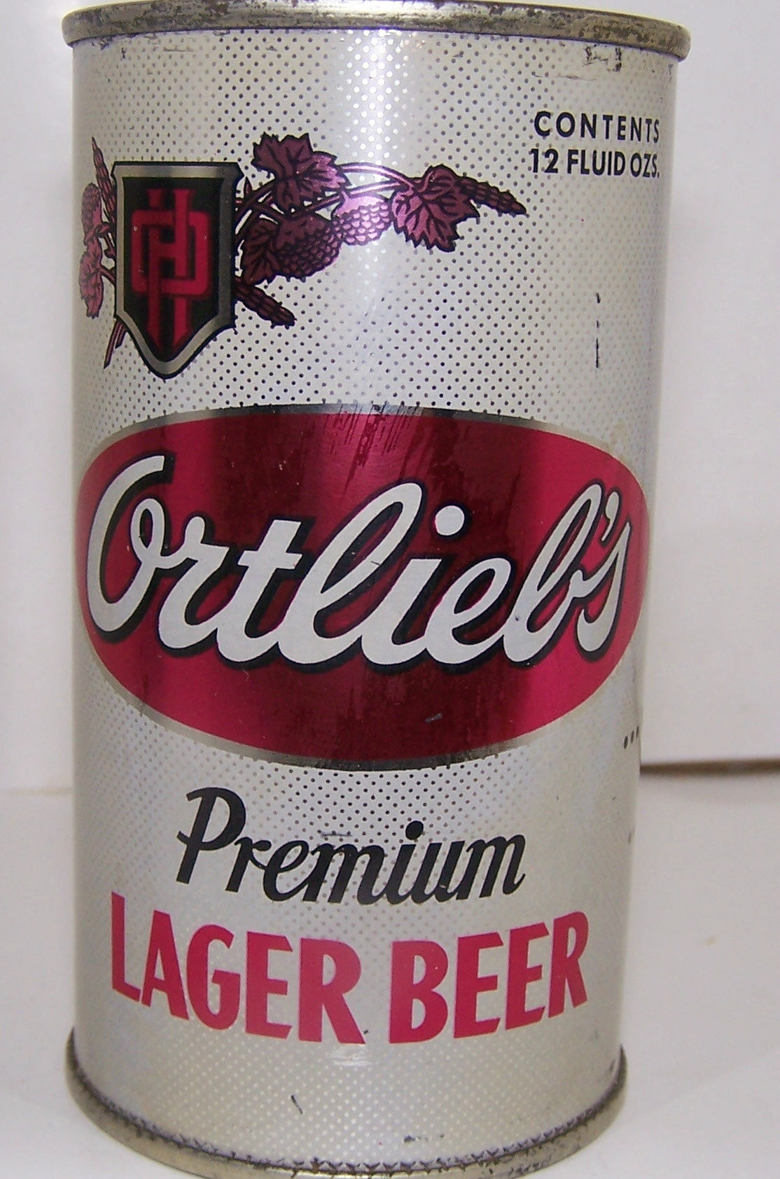 Ortlieb's Premium Lager Beer, (Pink Hops) USBC 109-21, Grade 1- Sold on 09/16/16