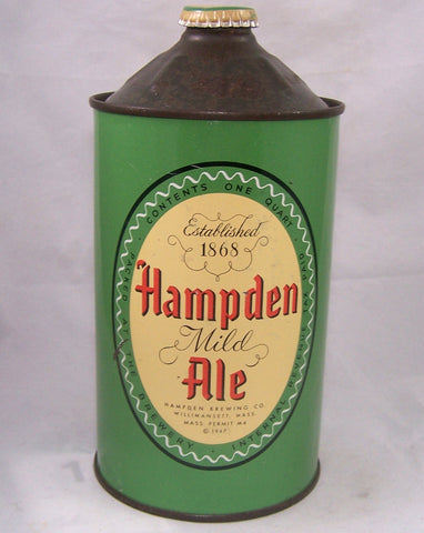 Hampden Mild Ale USBC 211-14, Grade 1/1+ Sold on 09/13/16