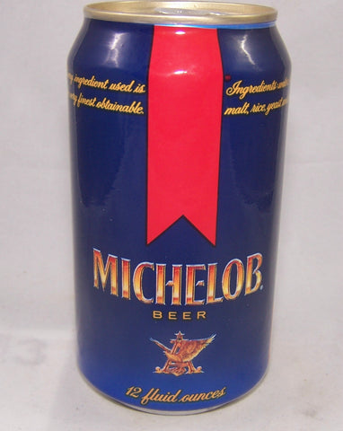 Michelob test can, Stay tab, Not listed, Grade 1/1+