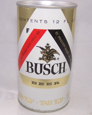 Busch Beer test can, USBC II 229-08, Grade 1/1+ Sold 10/1/16