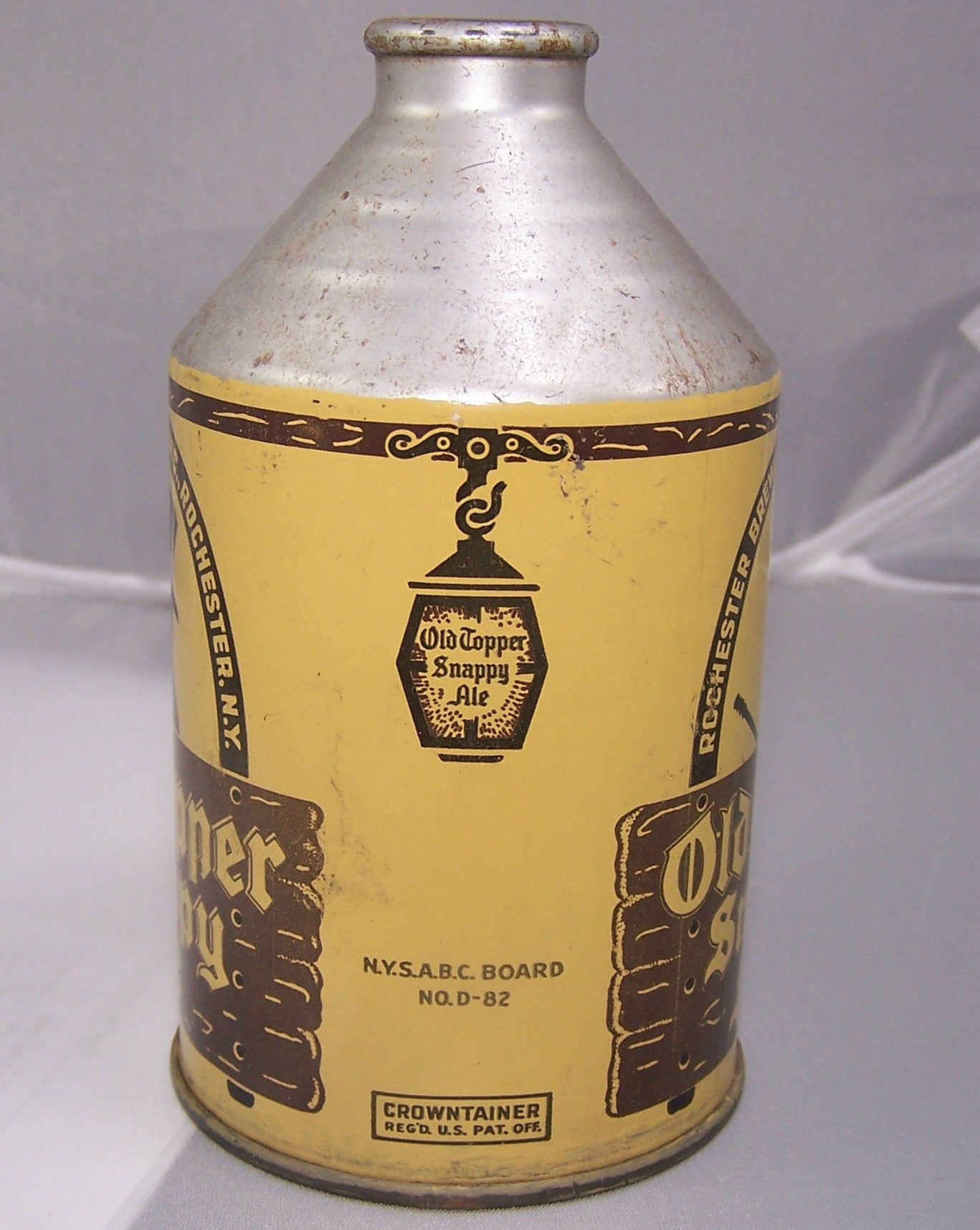 Old Topper Snappy Ale, USBC 197-29, Grade 1 Sold 3/2/15