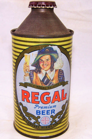 Regal Premium Beer, USBC 181-10 (Miami) Grade 1- Sold on 02/21/19
