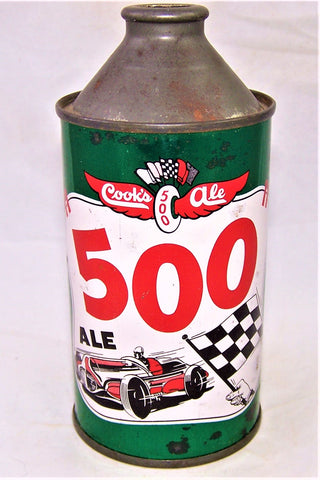 Cooks 500 Ale, USBC 158-03, Grade 1/1- Sold on 03/23/19