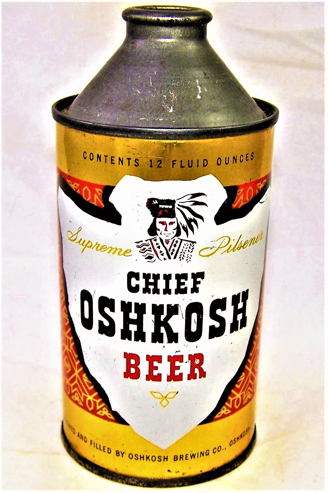 Chief Oshkosh Beer, USBC 157-19, Grade 1 to 1/1+ Sold on 03/07/19