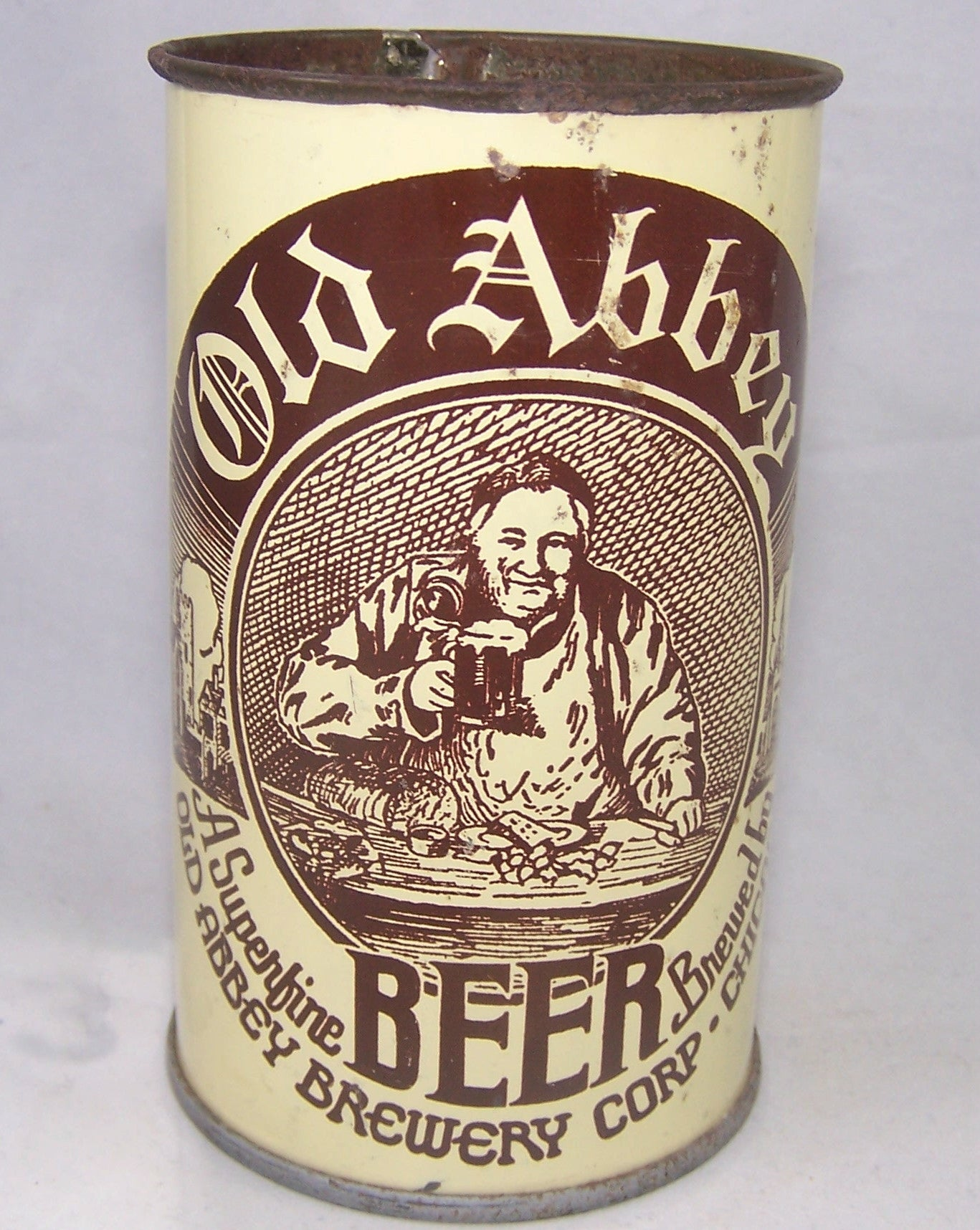 Old Abbey Beer, Not listed, Grade 1/1- Sold on 01/20/17
