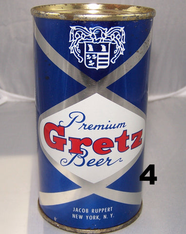 Gretz Beer, USBC 74-33, Grade 1 Sold on 2/27/15